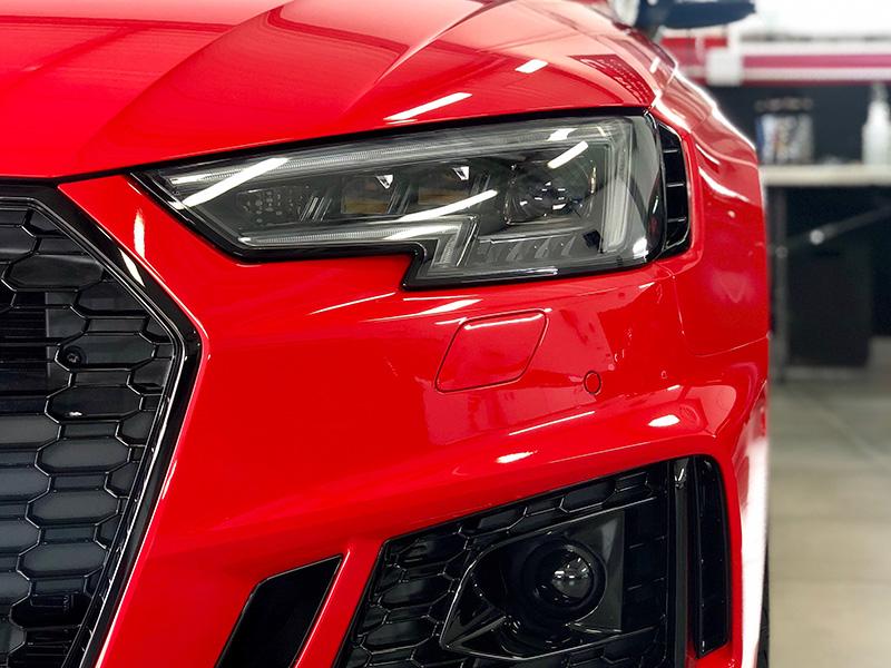 Traitement carrosserie céramique Audi A6