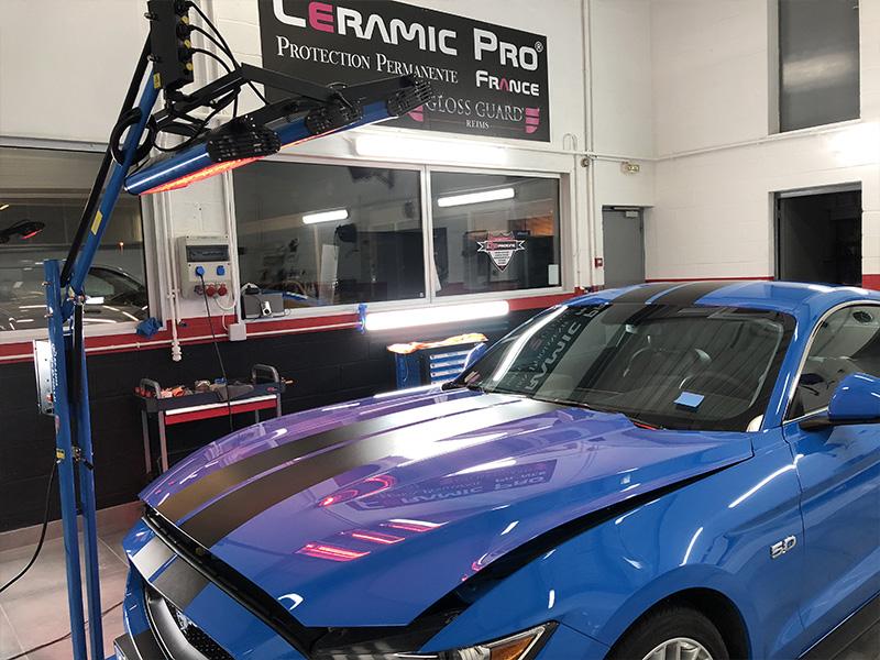Traitement céramique et covering sur Ford Mustang GT