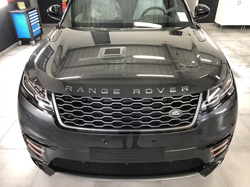 Traitement carrosserie céramique Range Rover