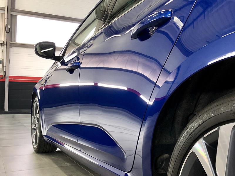 Traitement céramique sur Renault Megane GT