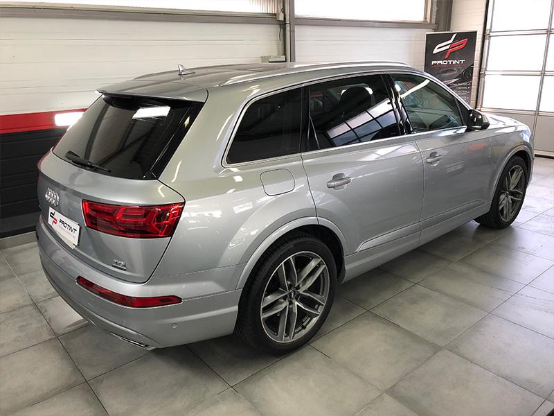 Audi Q7 – Film de protection carrosserie et vitres teintées arrières