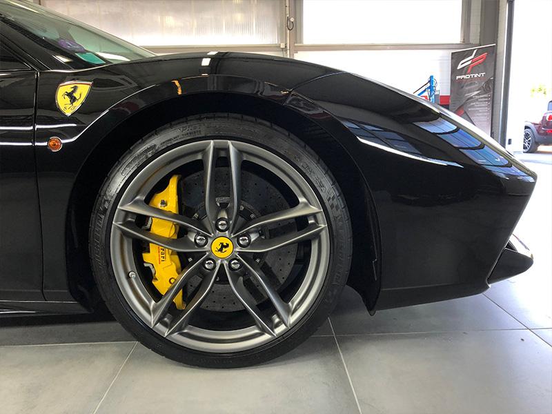 Ferrari 488 GTB – Film de protection transparent complet