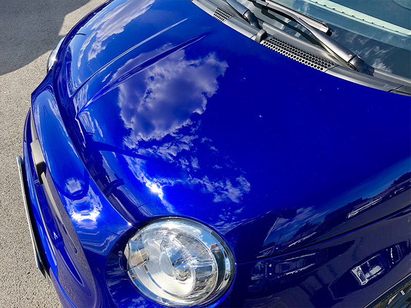 Fiat Abarth 500 – Rénovation polissage et traitement céramique