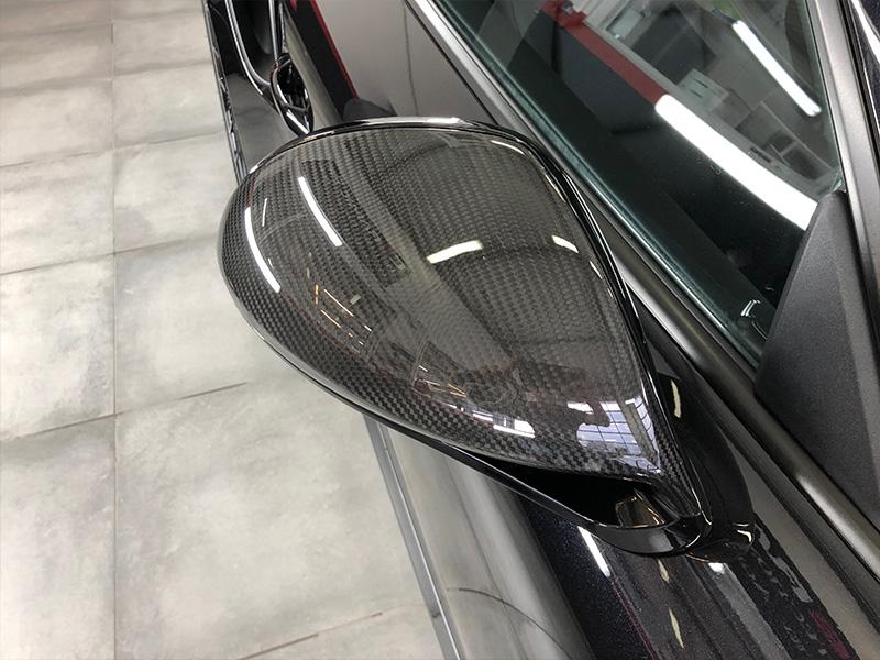 Porsche Turbo S – Film de protection sur la face avant et traitement céramique en carbone