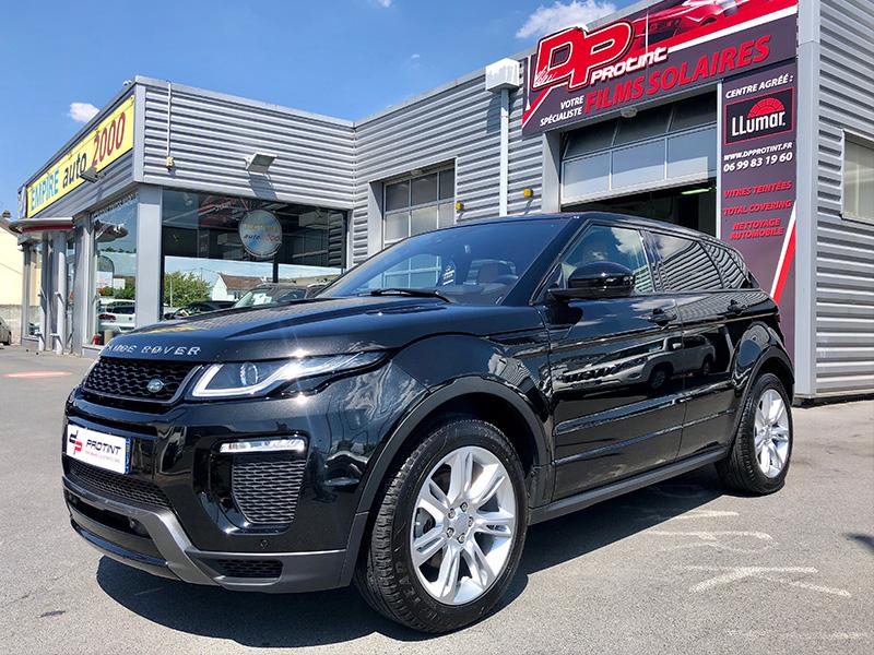 Range Rover Rénovation polissage et traitement céramique