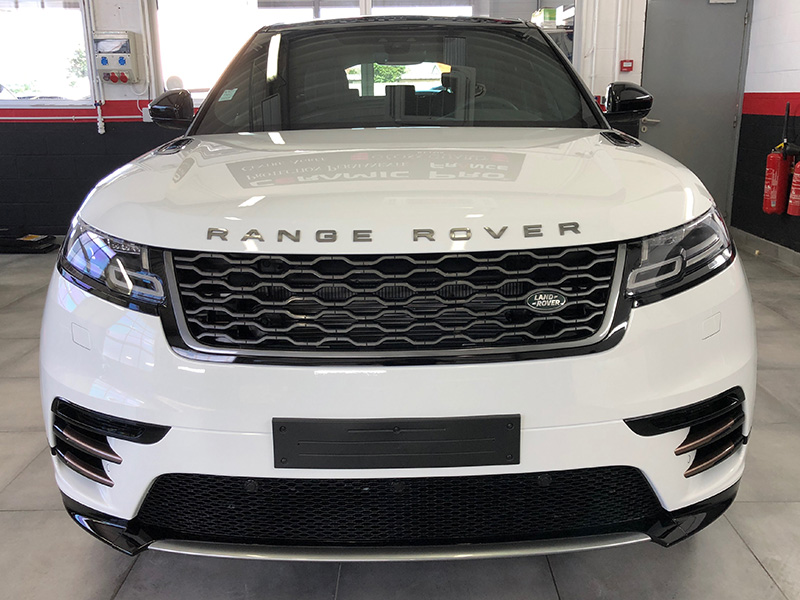 Range Rover Velar Film de protection transparent sur la face avant